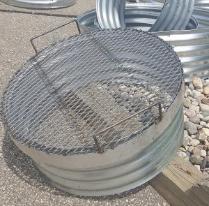 Camp Fire Ring Grate